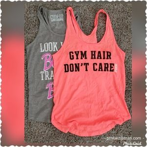 Work-out Tops/Lot of 2